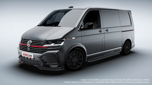 Volkswagen Commercial Vehicles Transporter Panel van Sportline